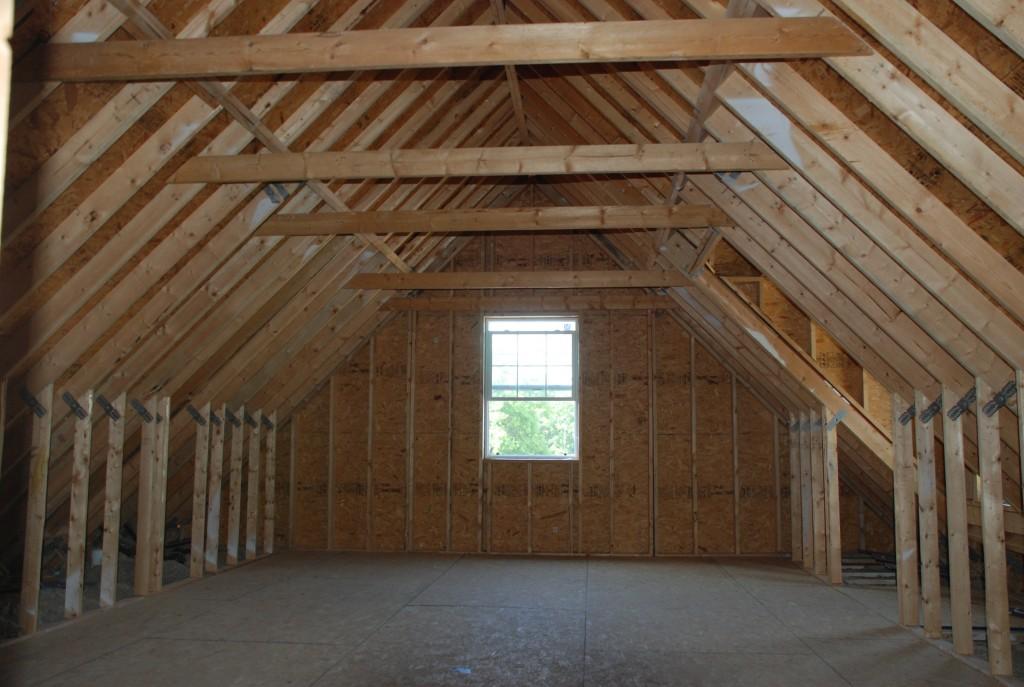 small attic man cave ideas - Realizam MANSARDE din LEMN pentru CASE tip Frantuzesc sau Atic