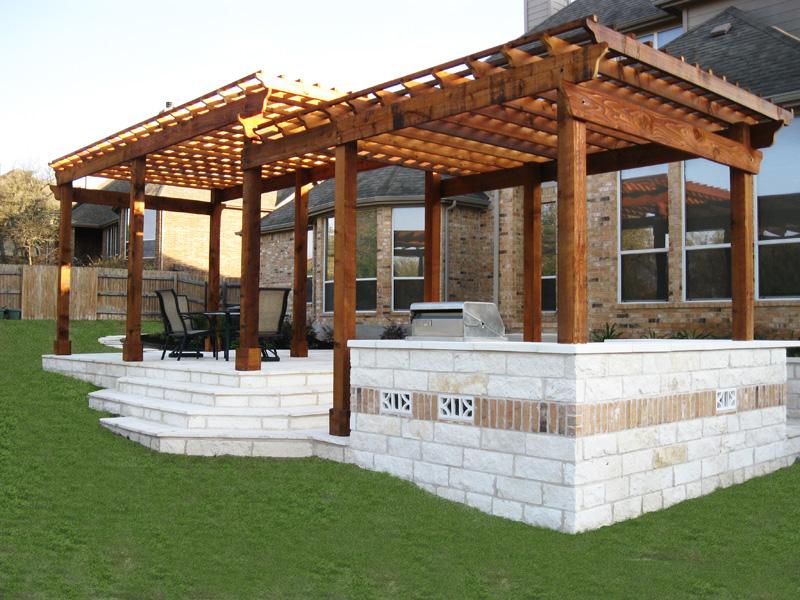 Constructii Pergole Din Lemn Masiv Pt Gradina Terase Sau Casa