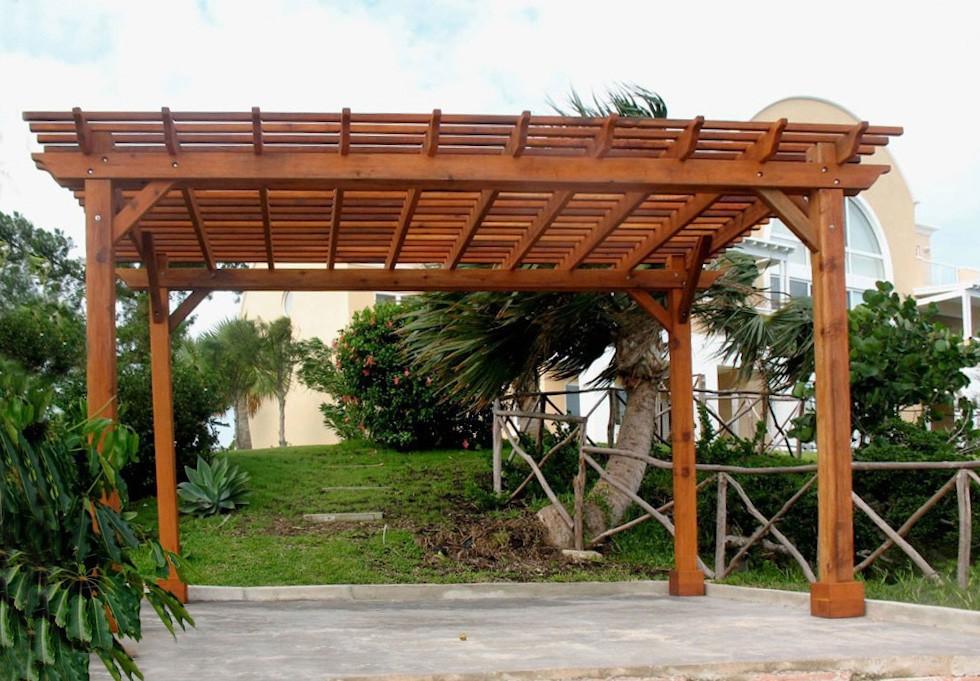 constructii pergole din lemn masiv pt gradina terase sau casa. Black Bedroom Furniture Sets. Home Design Ideas
