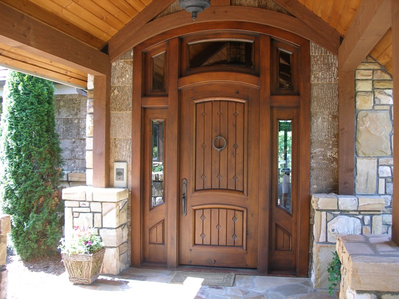 usi termopan din lemn masiv stratificat pt interior sau exterior
