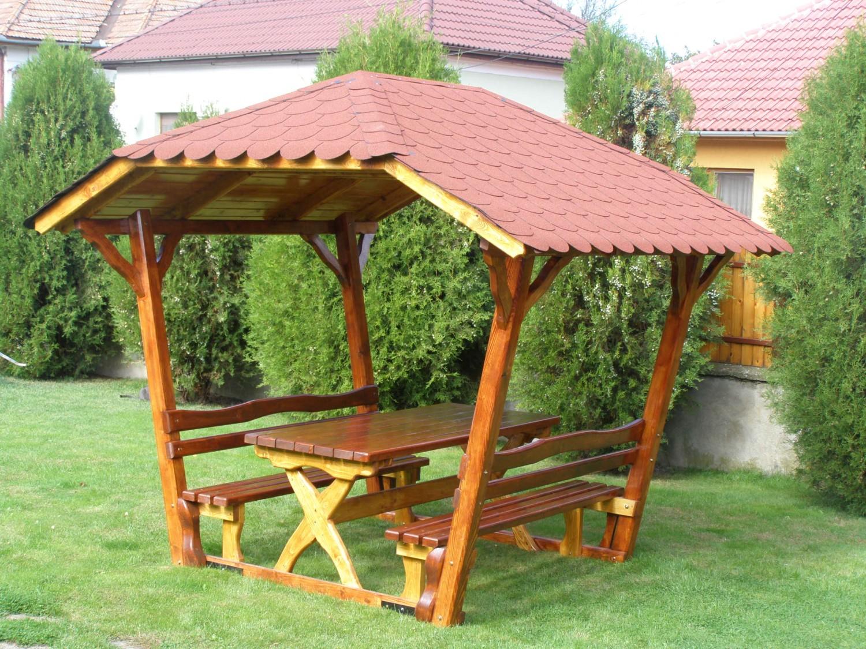Pavilioane Rustice Din Lemn Pentru Amenajare Gradina Sau Parcuri