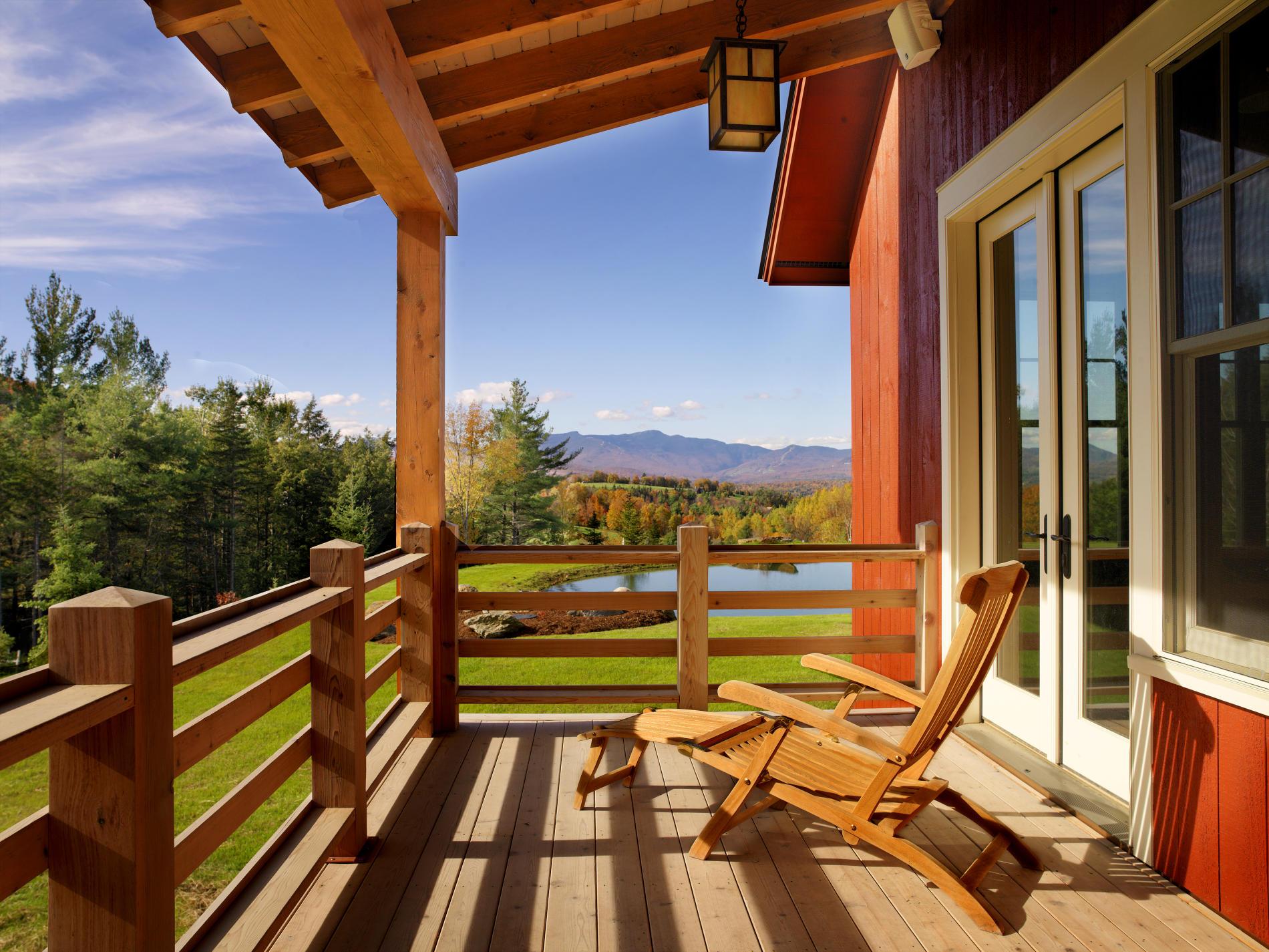 Constructii terase lemn pt gradina si terasa suspendata balcon for Case cu terase